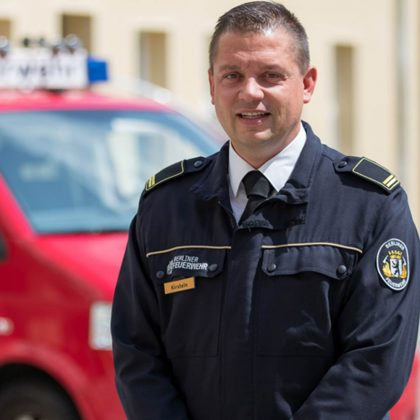 Thomas Kirstein Berliner Feuerwehr beim FORUM.Krise